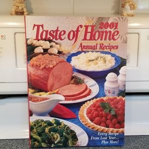 Taste of home 2001 annual recipes
